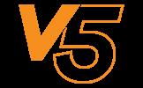 logo de la gamme Tente pliante V5