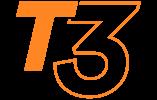 logo de la gamme Stand pliant T3