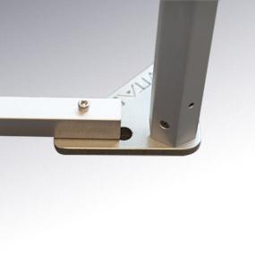 barre de seuil pour tente pliante V3