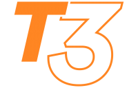 logo de la gamme de stand pliant T3